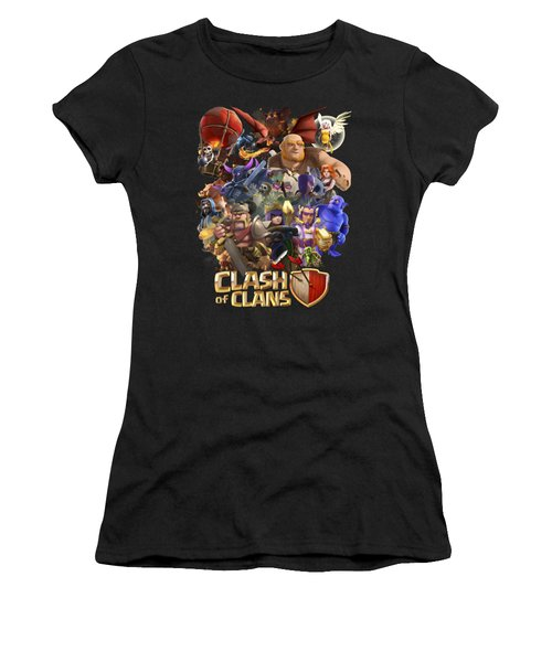 Coc Troops Women's T-Shirt (Athletic Fit)