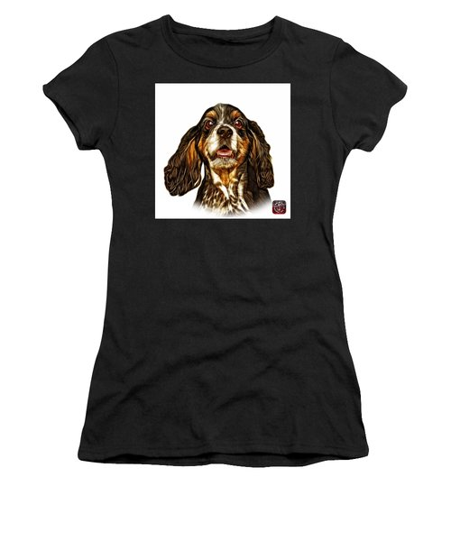 Cocker Spaniel Pop Art - 8249 - Wb Women's T-Shirt (Athletic Fit)
