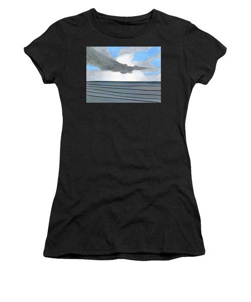 Cocoa Beach Sunrise 2016 Women's T-Shirt (Athletic Fit)