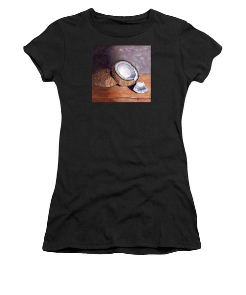 Coconut Anyone? Women's T-Shirt (Athletic Fit)