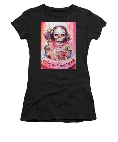 Coctel De Camarones Women's T-Shirt (Athletic Fit)