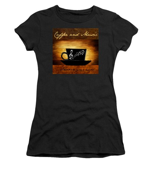 Coffee And Music Women's T-Shirt