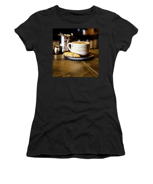 Coffee Bar Women's T-Shirt (Athletic Fit)