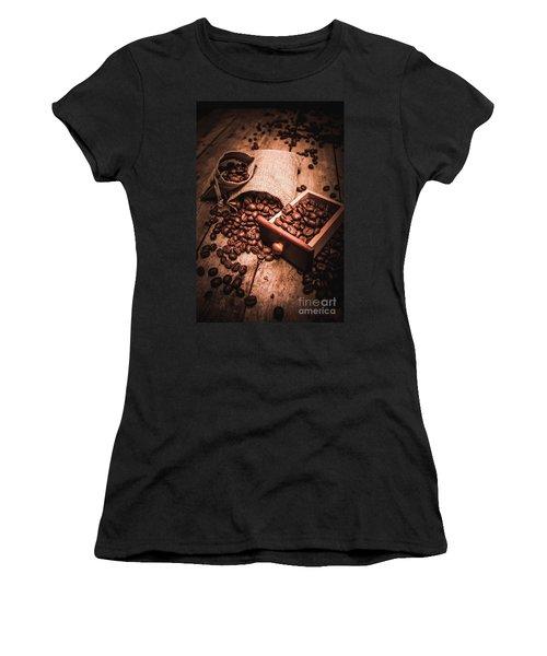Coffee Bean Art Women's T-Shirt