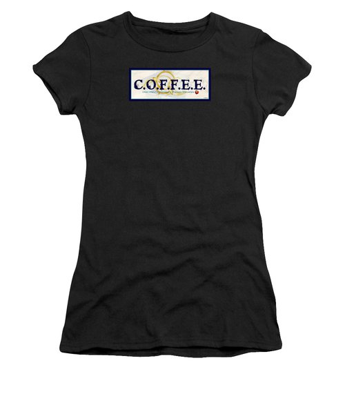 Coffee For Christ Women's T-Shirt (Athletic Fit)