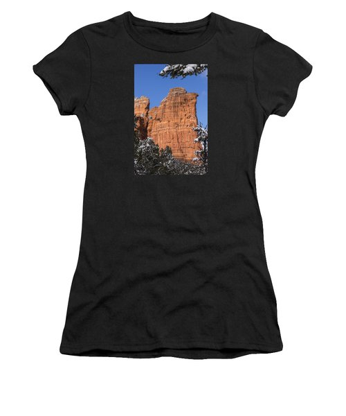 Coffee Pot Rock Women's T-Shirt (Athletic Fit)