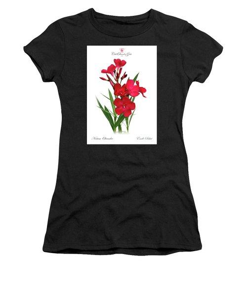 Cog  Nerium Oleander Emile Sahut Women's T-Shirt