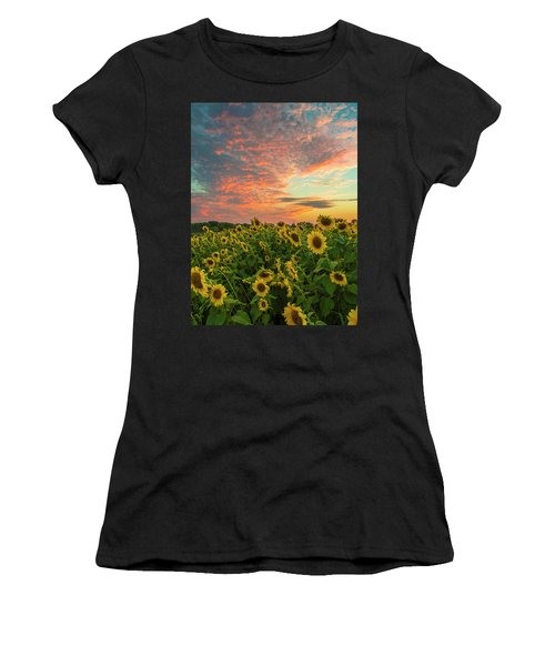Colby Farm Sunflowers Women's T-Shirt