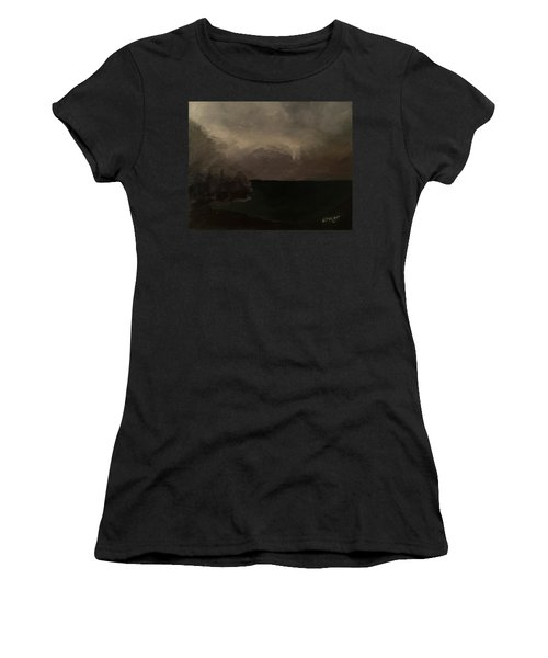 Cold Fog And Sea Women's T-Shirt