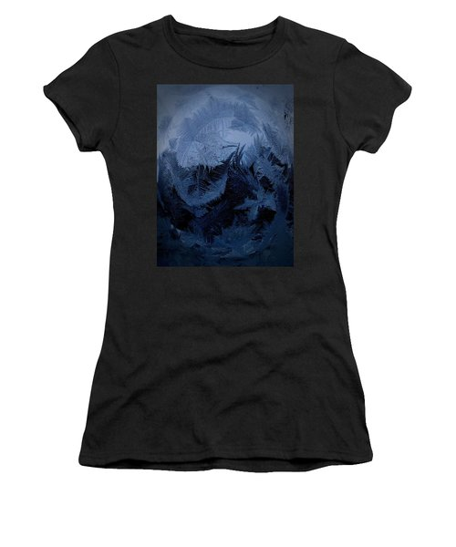 Cold Moon Rising Women's T-Shirt (Athletic Fit)