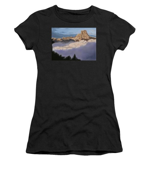 Cold Mountains Women's T-Shirt (Athletic Fit)