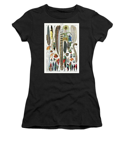 Collection Of Different Plume Types Women's T-Shirt