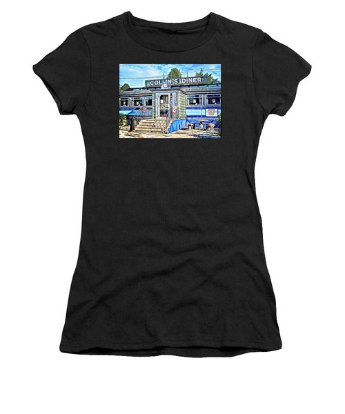 Collin's Diner New Canaan,conn Women's T-Shirt