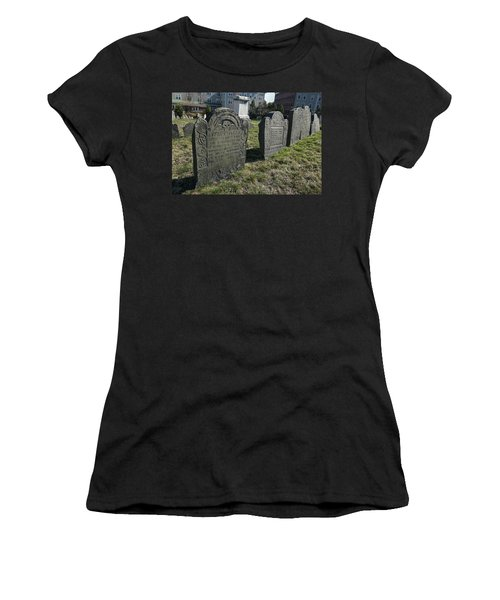 Colonial Graves At Phipps Street Women's T-Shirt