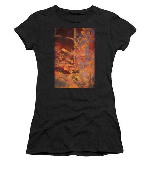Color Abstraction Lxxi Women's T-Shirt (Athletic Fit)