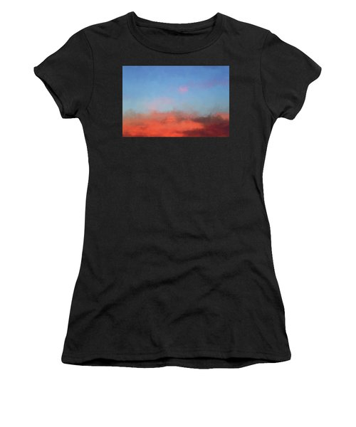 Women's T-Shirt featuring the photograph Color Abstraction Xlvii - Sunset by David Gordon