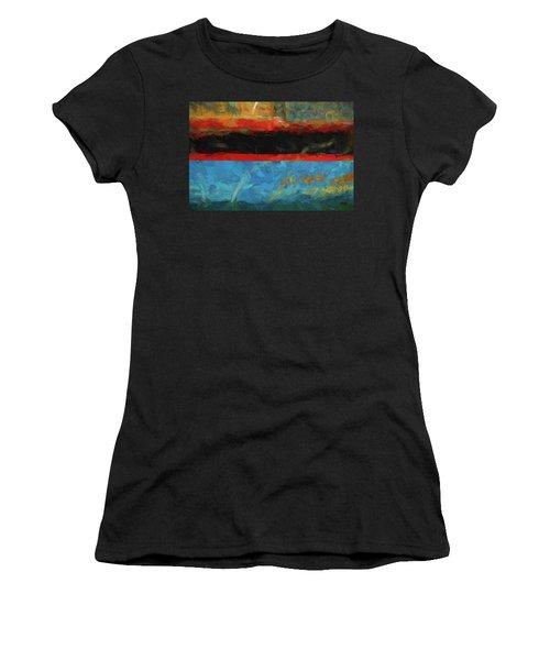 Color Abstraction Xxxix Women's T-Shirt