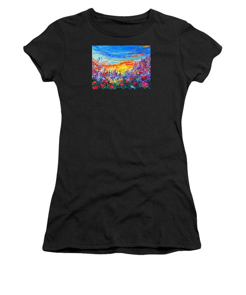 Color My World Women's T-Shirt (Athletic Fit)