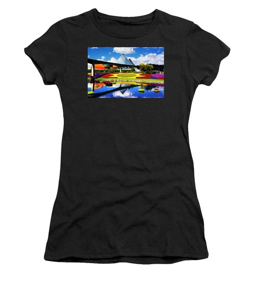 Women's T-Shirt (Junior Cut) featuring the photograph Color Of Imagination by Greg Fortier