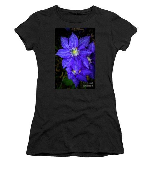Color Me Purple Women's T-Shirt (Athletic Fit)
