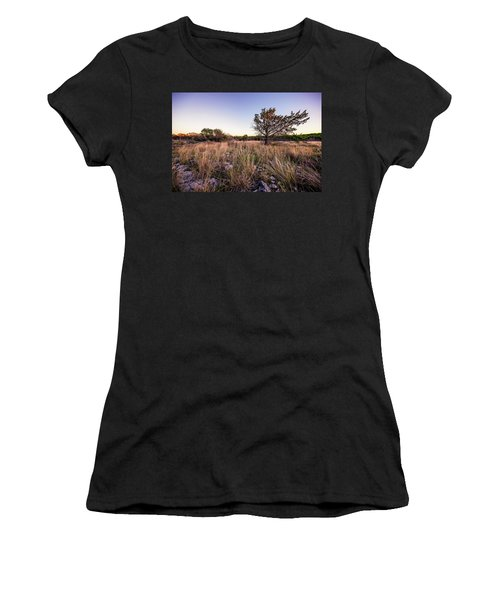 Colorado Bend State Park Gorman Falls Trail #2 Women's T-Shirt (Athletic Fit)