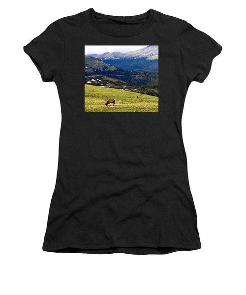 Colorado Elk Women's T-Shirt (Athletic Fit)