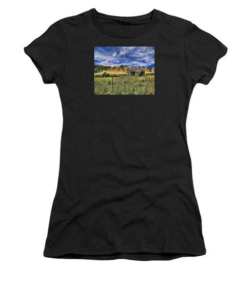 Colorado Homestead Women's T-Shirt (Athletic Fit)