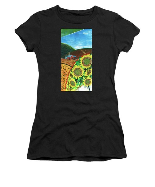 Colorado Sunflowers Women's T-Shirt (Athletic Fit)