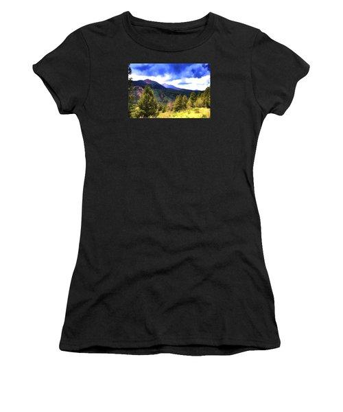 Colorado Watercolor Women's T-Shirt (Athletic Fit)