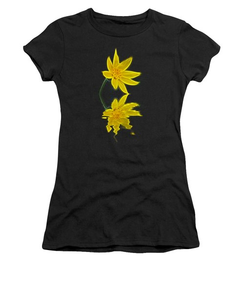 Colorado Wildflower Women's T-Shirt (Athletic Fit)