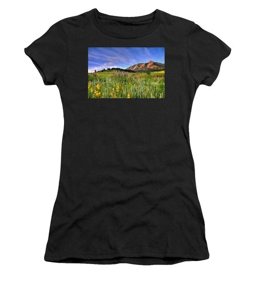 Colorado Wildflowers Women's T-Shirt