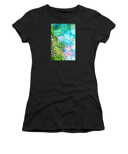 Colorful Art - Enchanting Spring - Sharon Cummings Women's T-Shirt (Athletic Fit)