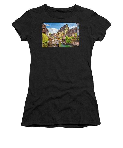 Colorful Colmar Women's T-Shirt (Athletic Fit)