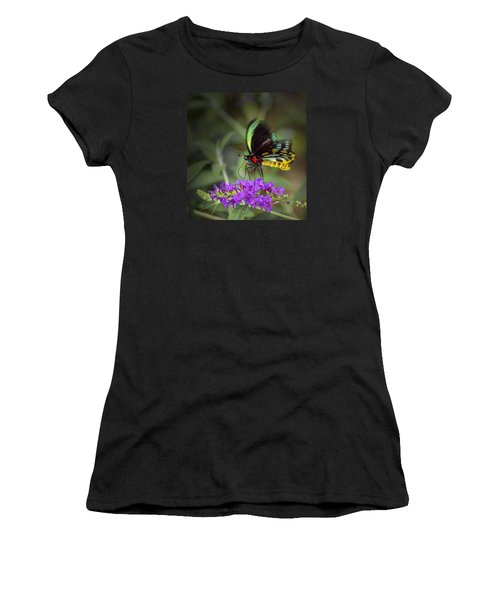 Colorful Northern Butterfly Women's T-Shirt (Athletic Fit)