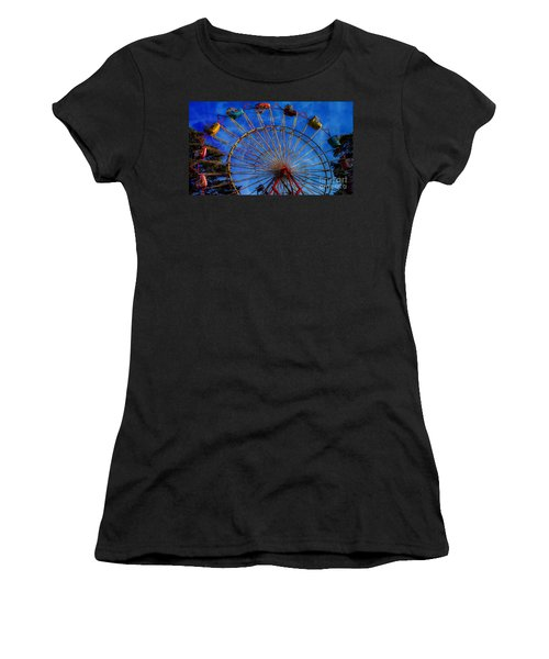 Colorful Ride Women's T-Shirt (Athletic Fit)