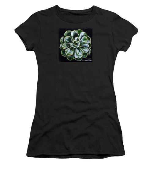 Colorful Succulent Women's T-Shirt (Athletic Fit)
