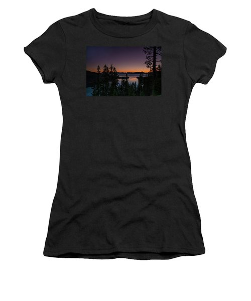 Colorful Sunrise In Emerald Bay Women's T-Shirt