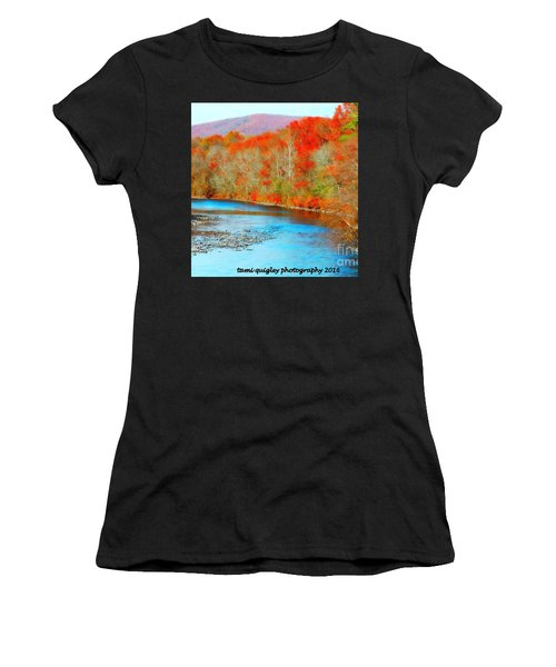 Coloring The Kittatinny Women's T-Shirt