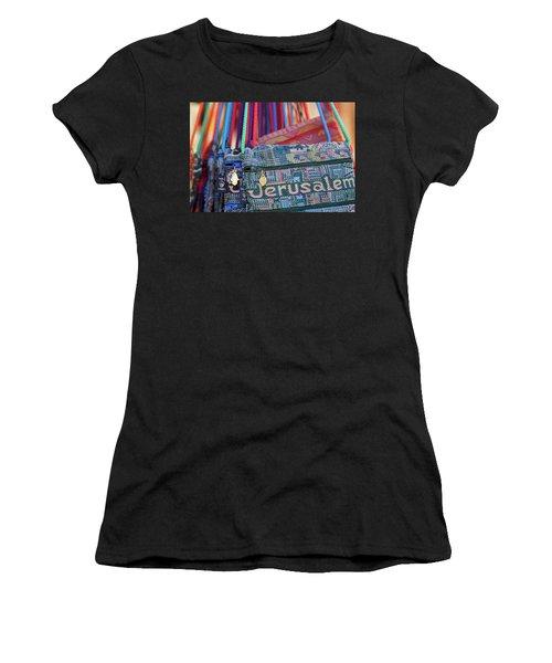 Colors Of Jerusalem Women's T-Shirt (Athletic Fit)