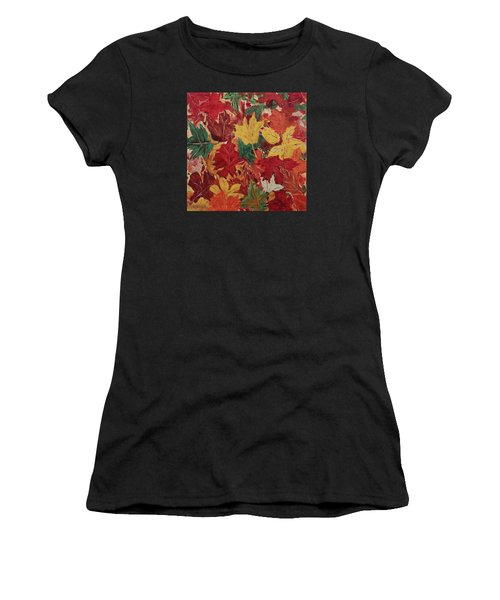 Colors Of October Women's T-Shirt (Athletic Fit)