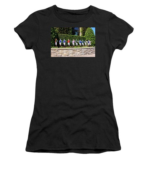 Colors Of Past Stakes At Keeneland Ky Women's T-Shirt (Athletic Fit)