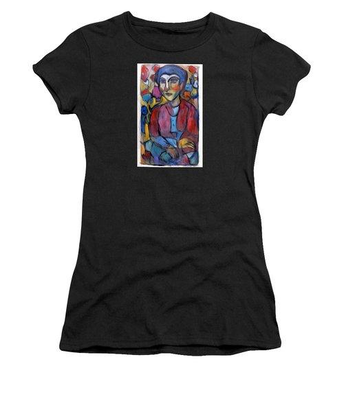 Colourful Contemple Women's T-Shirt