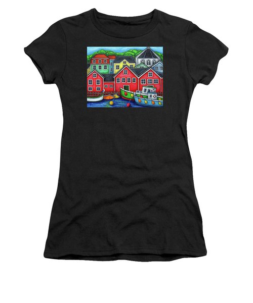 Colours Of Lunenburg Women's T-Shirt (Athletic Fit)