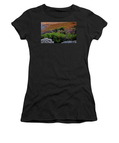 Women's T-Shirt (Athletic Fit) featuring the photograph Colours Of North Head by Miroslava Jurcik