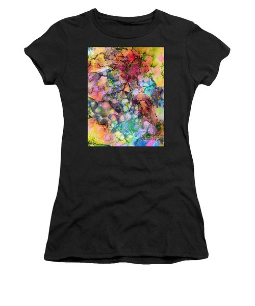 Colours - The Magic Of Life Women's T-Shirt (Athletic Fit)