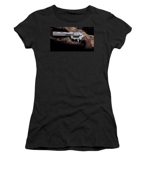 Colt Python Revolver Women's T-Shirt