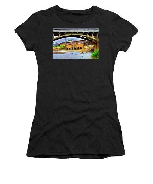 Columbia Canal At Gervais Street Bridge Women's T-Shirt