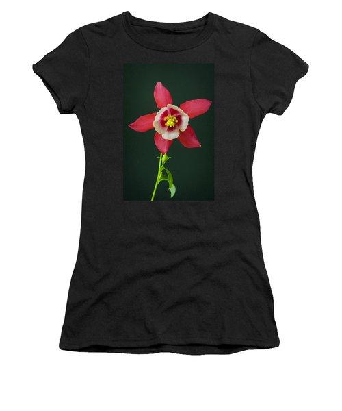 Columbine Flower 2 Women's T-Shirt