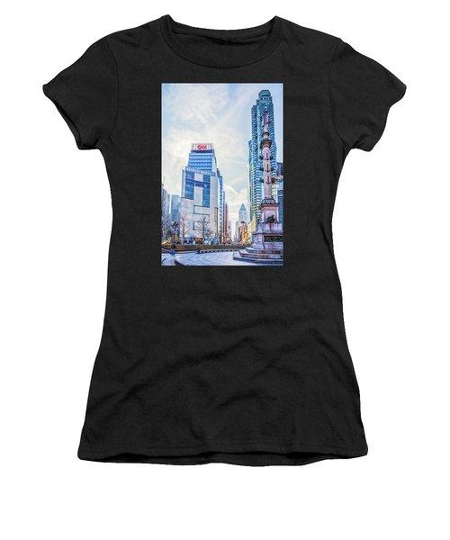 Columbus Circle Women's T-Shirt