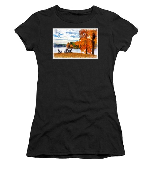Come Sit For A While Women's T-Shirt